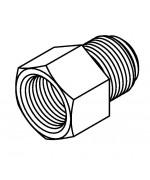 Thread Adaptor 1/2 x 20NF - 7/16 x 24NS