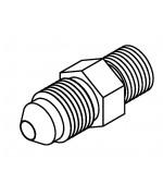 Adaptor M10 x 1.00 - No.4 JIC