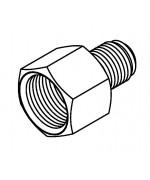Thread Adaptor 3/8 x 24NF - 1/2 x 20NF